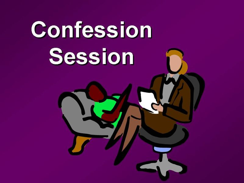 Confession Session Slide