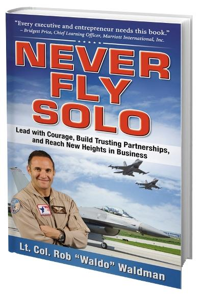 Never Fly Solo mailer
