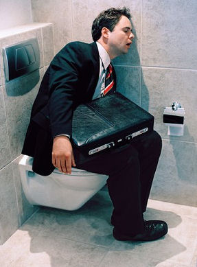 2989_Businessman Toilet